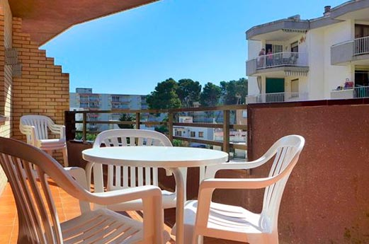 Appartementen Azahar balkon