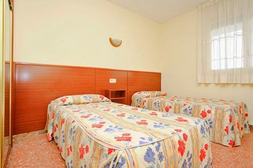 Appartementen Azahar slaapkamer