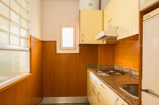 Appartementen Goya keuken
