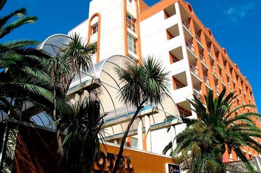 Hotel Belverde voorkant