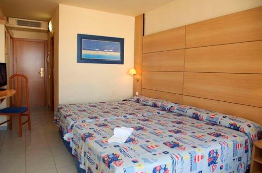 Hotel Belverde slaapkamer