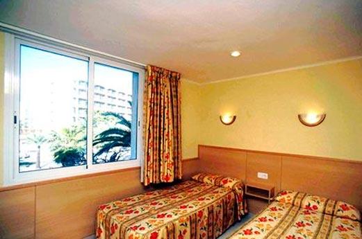 Los Peces slaapkamer