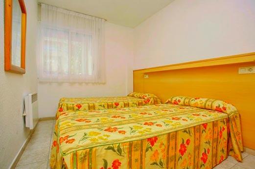 Appartementen Zahara slaapkamer