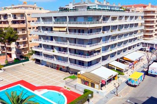 Appartementen Zahara voorkant