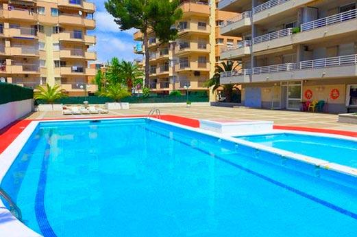 Appartementen Zahara zwembad